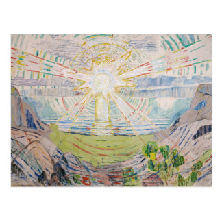 Edvard Munch - The Sun Cartes Postales