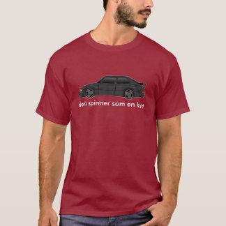 edwardian-flux d'air, katt d'en de som de fileur t-shirt