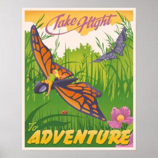 Effectuez le vol à l'aventure poster
