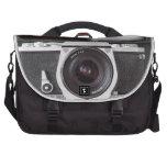 Effet d'appareil-photo de SLR sur le sac de banlie Sac Pour Ordinateur Portable