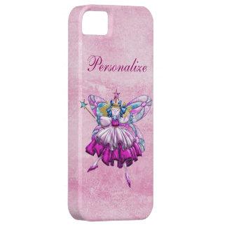 Effet de bijou imprimé par fée rose mignonne de coque iPhone 5 Case-Mate