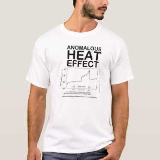 EFFET de CHALEUR ANORMAL (T-shirt de fusion T-shirt