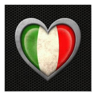 Effet en acier de maille de drapeau italien de bristols
