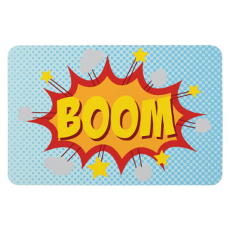 Effet sonore de bande dessinée de BOOM Magnet Souple