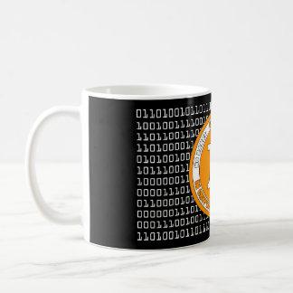 Effiloche Bitcoin - des M3 Mug Blanc