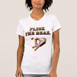 Effleurez l'haricot - le T-shirt des femmes
