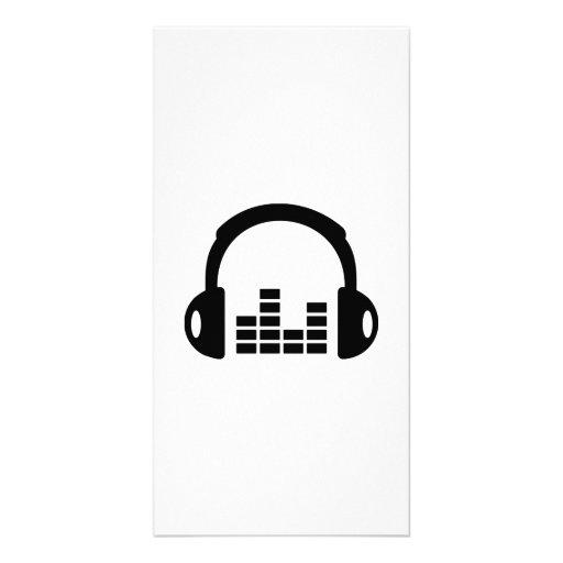 Égaliseur d'écouteurs photocartes personnalisées