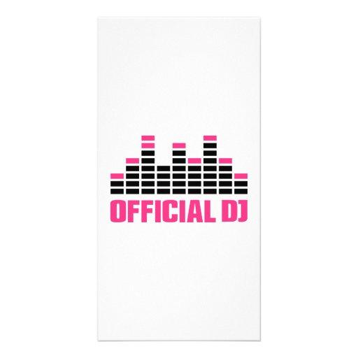 Égaliseur officiel du DJ Cartes Avec Photo