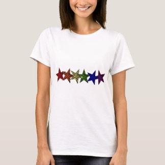 Égalité de fierté d'étoile de LGBTQ T-shirt