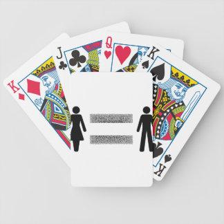 Égalité de salaires pour tous jeu de cartes