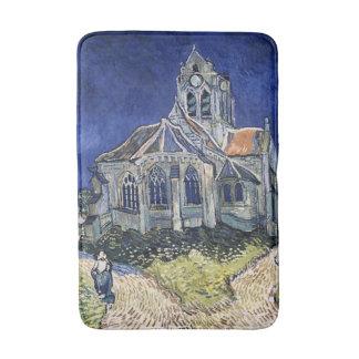Église Auvers-sur-Oise peignant Vincent van Gogh Tapis De Bain