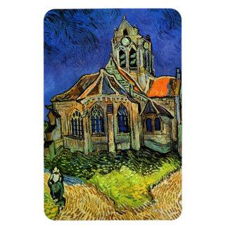Église aux beaux-arts d'Auvers Van Gogh Magnet Souple