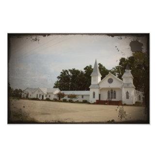 Église baptiste de missionnaire de verger de terri photo d'art