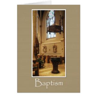 Église catholique de St Mary - carte de baptême