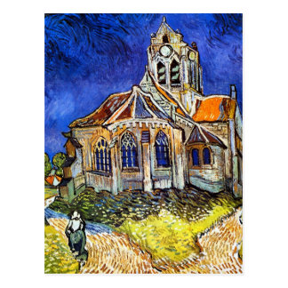 Église chez Auvers Carte Postale