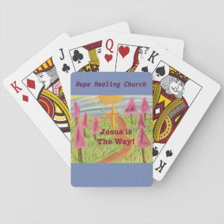 Église curative Jésus d'espoir les cartes de jeu Cartes À Jouer