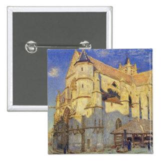 Église d'Alfred Sisley | chez Moret, temps givré Badge