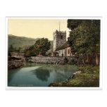 Église de Grasmere, secteur de lac, Angleterre pH  Cartes Postales