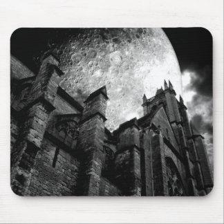 Église de la pleine lune tapis de souris