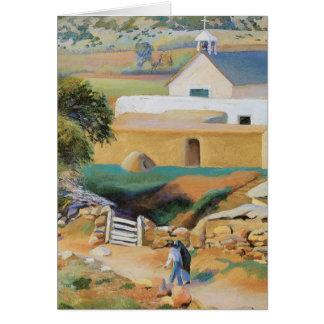 Église de mission carte de vœux