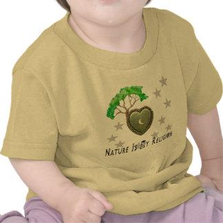 Église de nature t-shirts