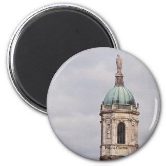 Église de Notre-Dame Magnet Rond 8 Cm