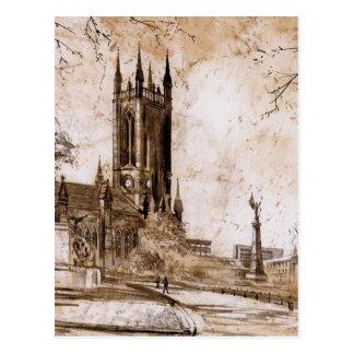 Église de St Thomas, Newcastle sur la carte de