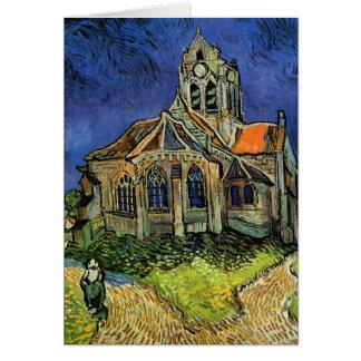 Église de Van Gogh chez Auvers, architecture Carte De Vœux