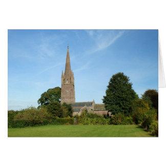 Église de Weobley Cartes De Vœux