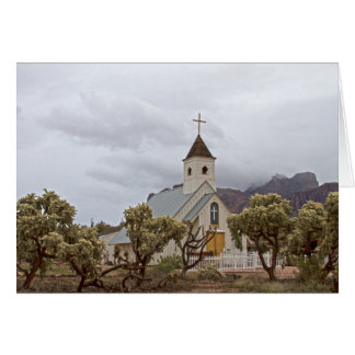 Église d'Elvis aux montagnes de superstition Cartes