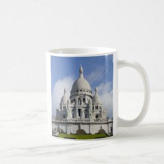Église du coeur sacré mug blanc