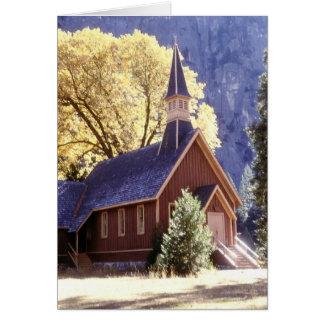 Église en parc national de Yosemite Cartes