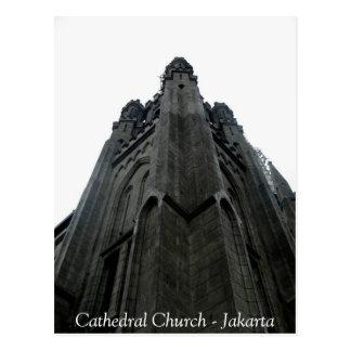 Église Jakarta de cathédrale Carte Postale