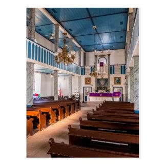 Église luthérienne de St Paul - Serbin, TX - carte