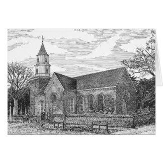 Église paroissiale de Bruton, Williamsburg, la Cartes