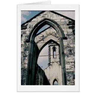 Église sans toit cartes