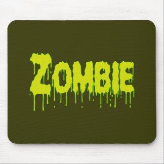 Égouttement de zombi tapis de souris