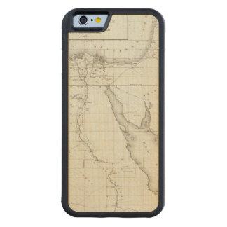 Egyopt et la Palestine Coque iPhone 6 Bumper En Érable