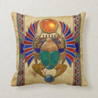 Egyptien du sarcophage 3D Coussin