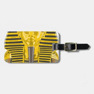 Egyptien Pharoh Étiquette À Bagage