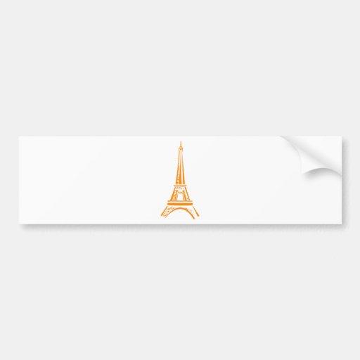 Eiffel Tour-Paris Autocollant Pour Voiture