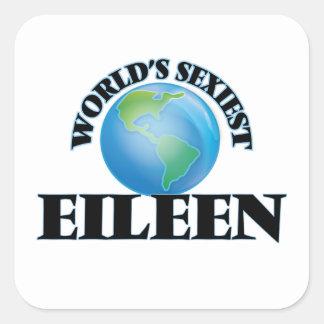 Eileen le plus sexy du monde stickers carrés