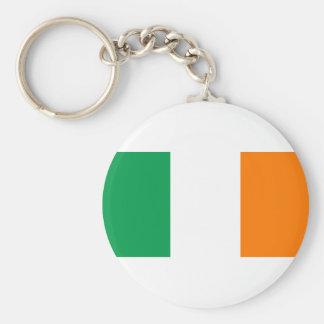 Eire, la nation celtique irlandaise porte-clé rond