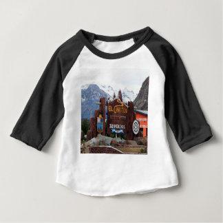 EL Chalten, Patagonia, Argentine T-shirt Pour Bébé