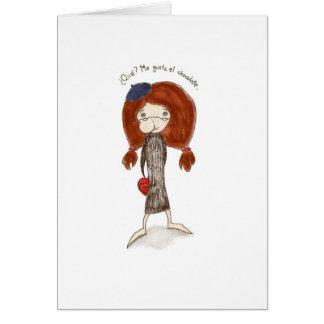 El Dia de San Valentin Tarjeta Carte De Vœux