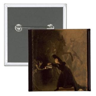 EL Hechizado de Francisco Jose de Goya y Lucientes Badges