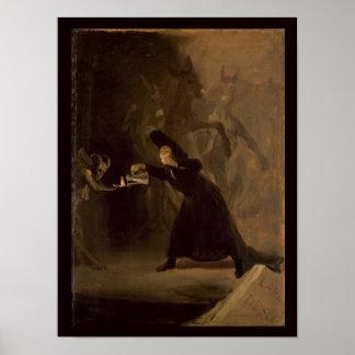 EL Hechizado de Francisco Jose de Goya y Lucientes Posters
