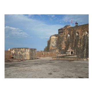 EL Morro San Juan Porto Rico Carte Postale