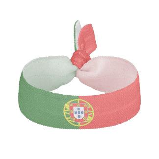 Élastique à cheveux de drapeau du Portugal
