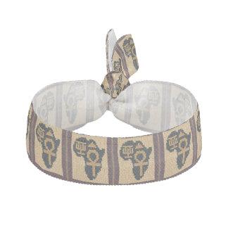 Élastique Pour Cheveux Bracelet élastique de symboles d'impression